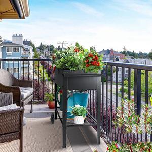 garden  bed in balcony