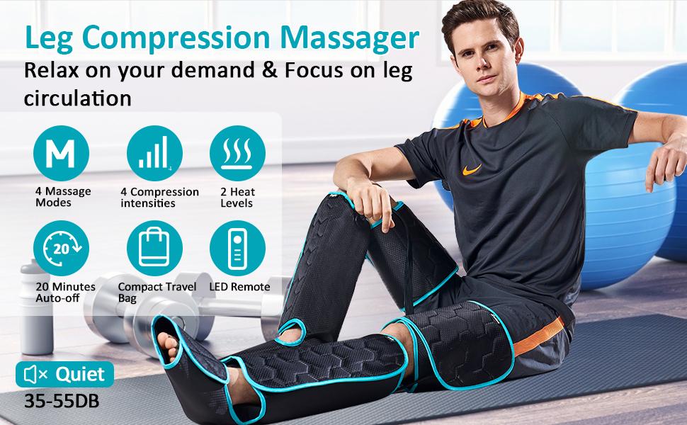 masajeador de piernas para la circulación