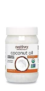 coconut oil, refined coconut oil, cooking oil