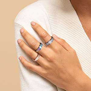 anxiety ring for women