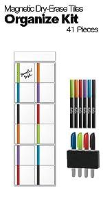M.C. Squares Tile Organize Kit