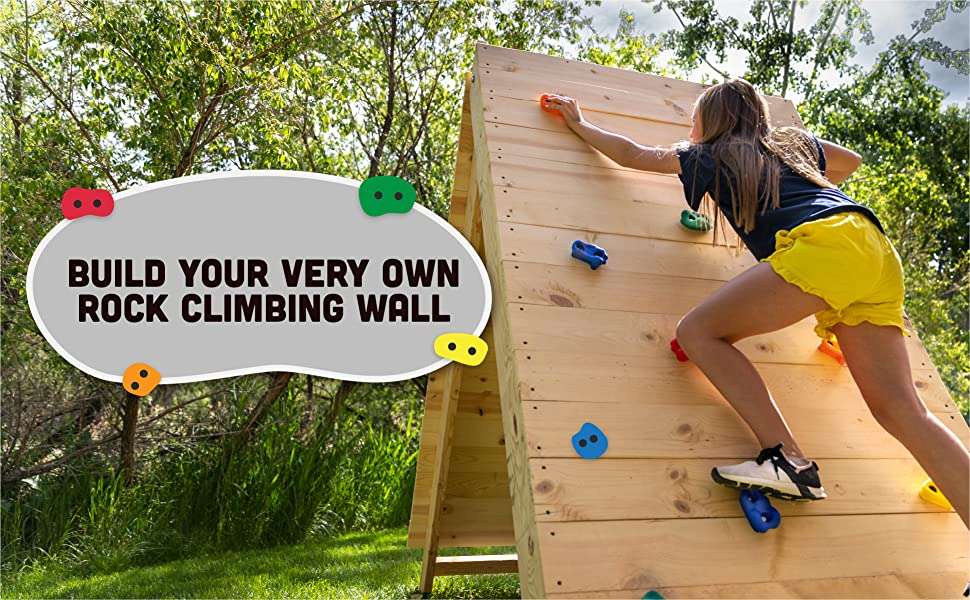 Build Your Very Own Rock Climbing Wall