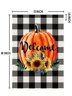 pumpkin flags