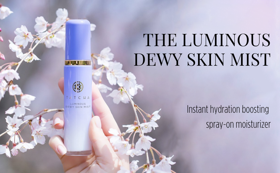 tatcha the luminous Dewy Skin Mist
