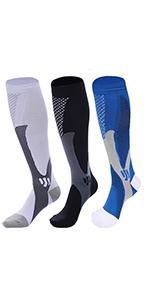 football compression cushion socks
