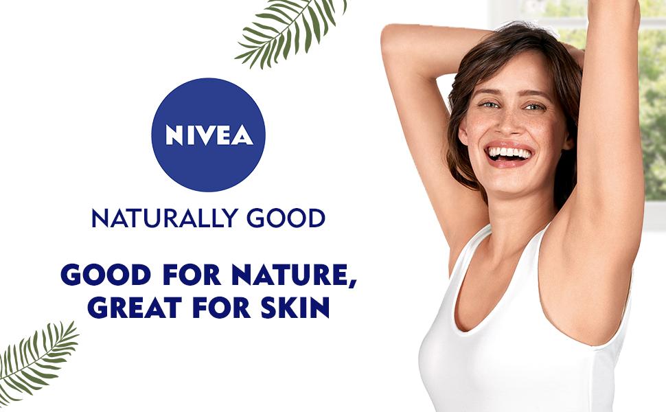 NIVEA,Women,Deodorant,Aloe Vera,Natural,Fresh,Fragrance