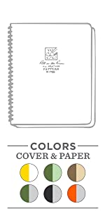 All Weather Large Side Spiral Notebook
