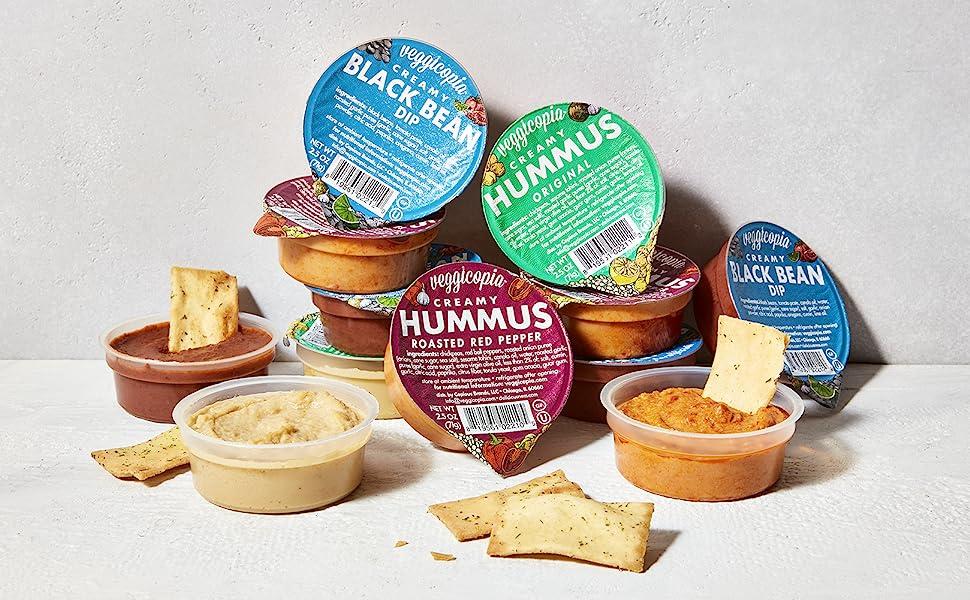 Veggicopia Hummus and Dips