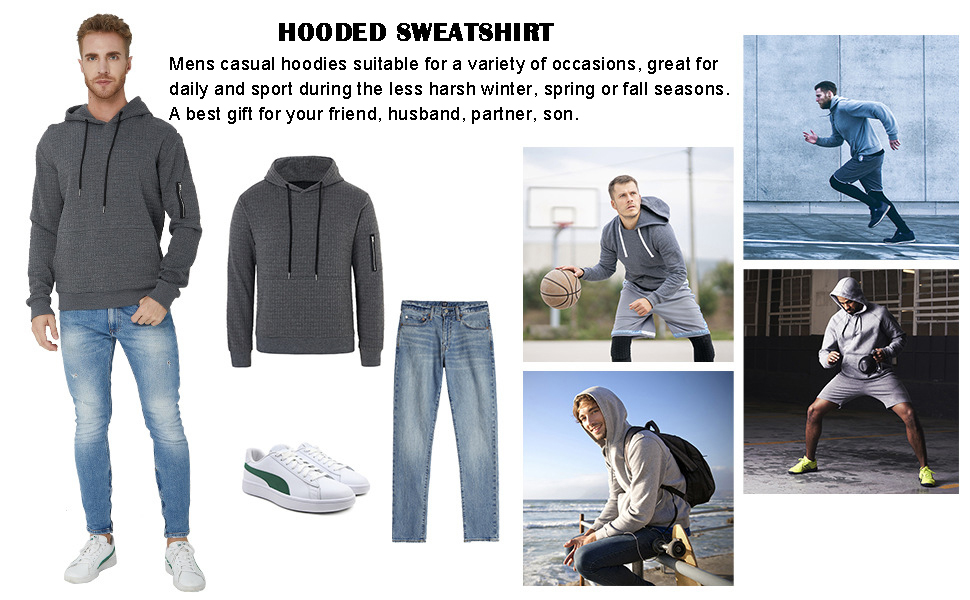 Mens casual pullover