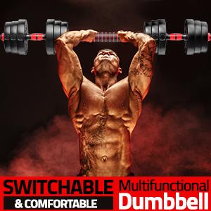 Adjustable Dumbbells set 2-22lbs