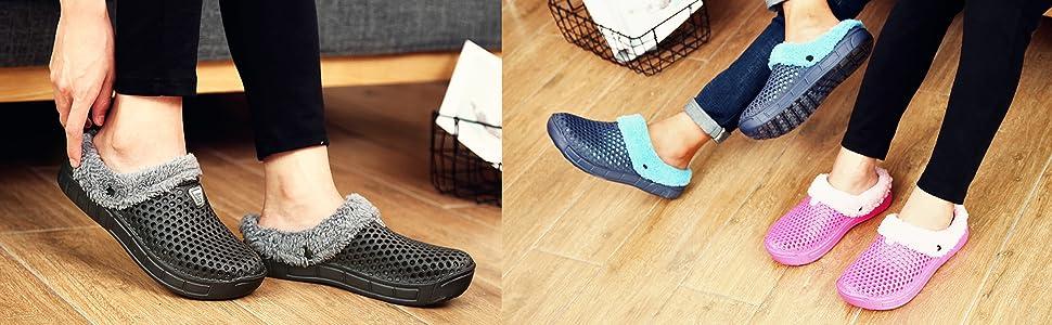 warm garden shoes