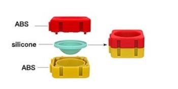 Push Bubble Splicing Building Blocks Toy
