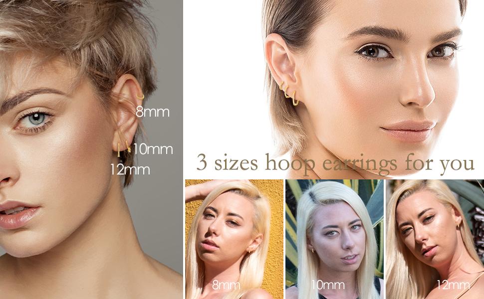 earrings size