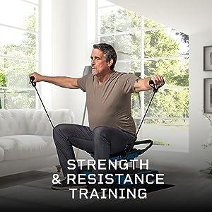Whole body vibrating exercise machine