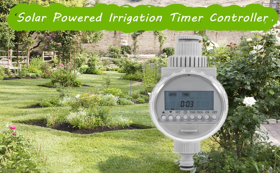 Solar Powered Irrigation Timer Controller