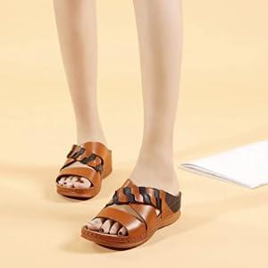 platform wedge sandals for women