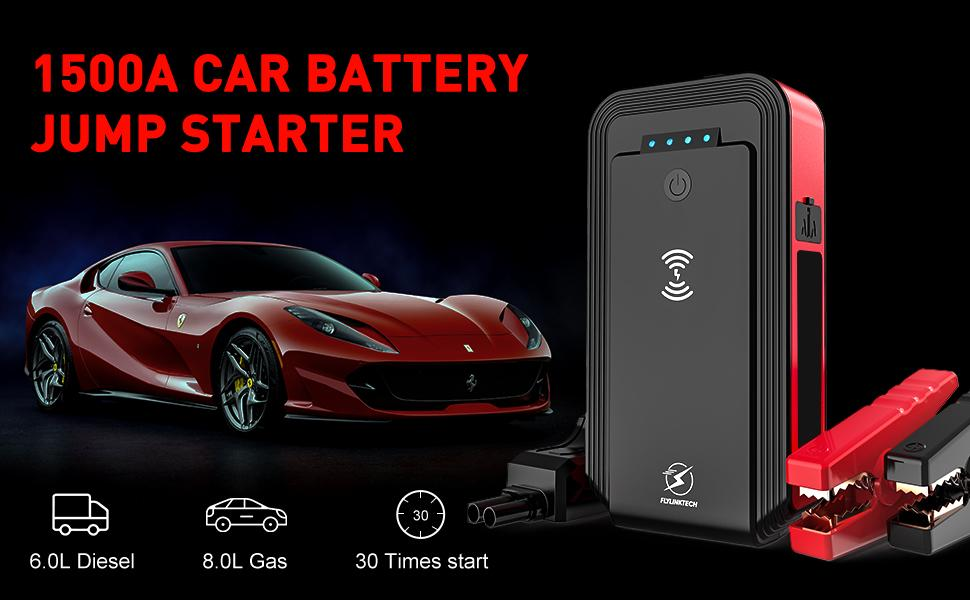 jump starter with wireless charger
