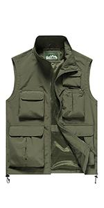 men quick dry vest utility outdoor vest