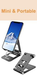 Cell Phone Stand Adjustable Portable Desktop Phone Holder