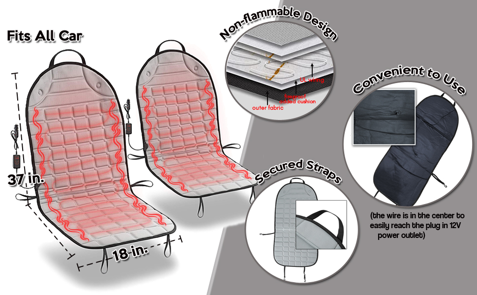 Car Travel Seat Cover Cushion