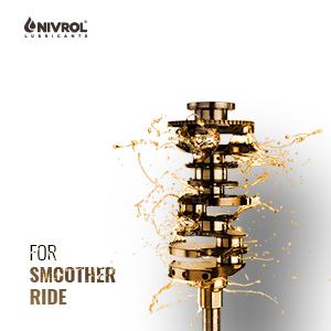 Nivrol Apex 4T 20W40 Engine Oil For Four Stroke Bikes (600 ml)