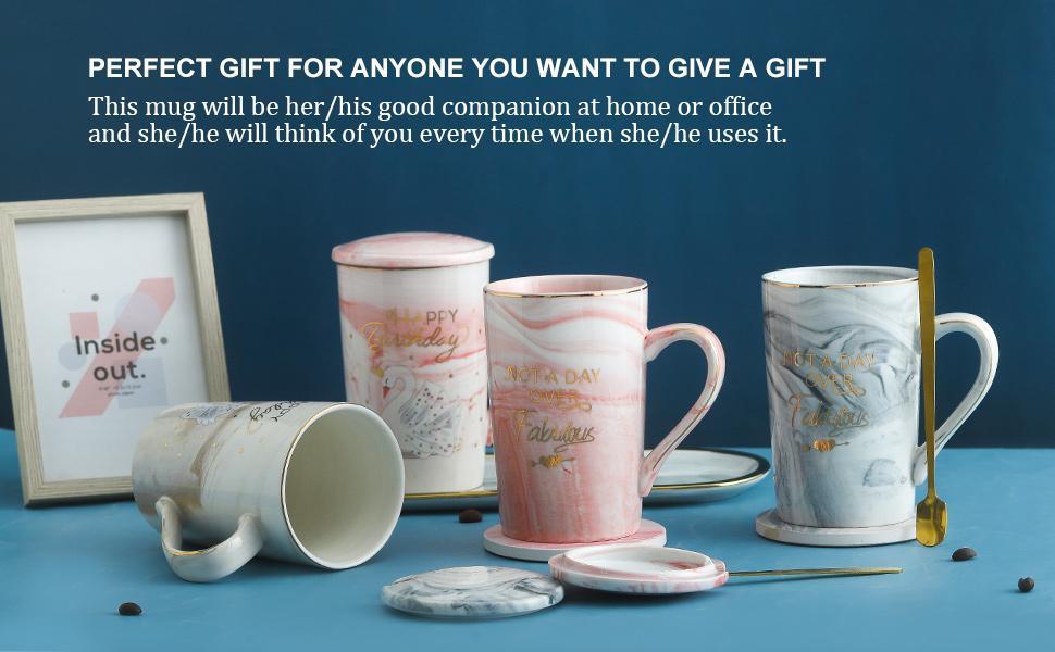 NJCharms Coffee Mugs for Women