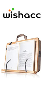 book stand in bed