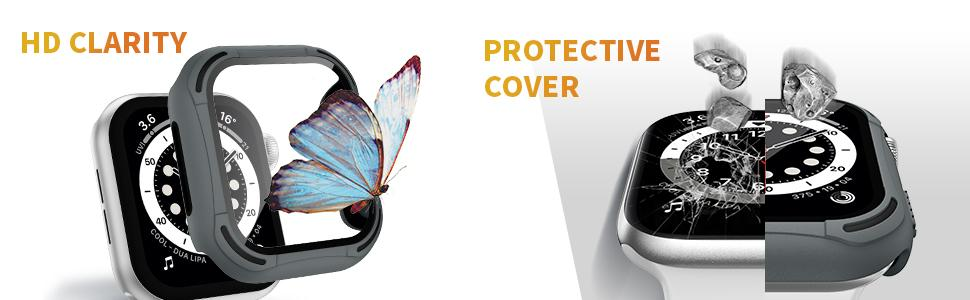 PROTECTIVE COVER and HD CLARITY