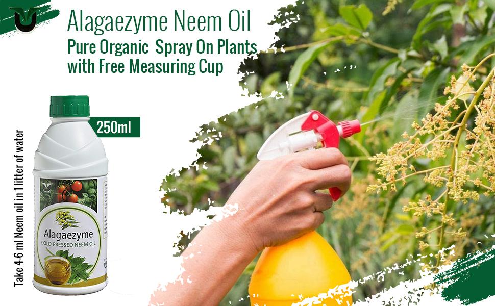 B08JCP6SHR Alagaezyme Pure Organic Neem Oil