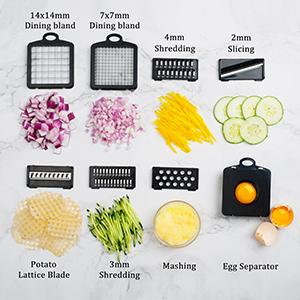 Max K Vegetable Chopper, Onion Chopper, Mandoline Slicer