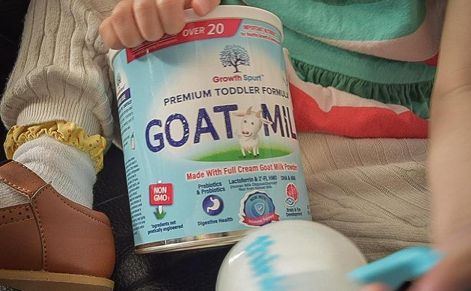 Growth Spurt Goat Milk Toddler Formula Best Toddler Formula
