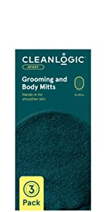 Cleanlogic Sport line Grooming and Body Mitts