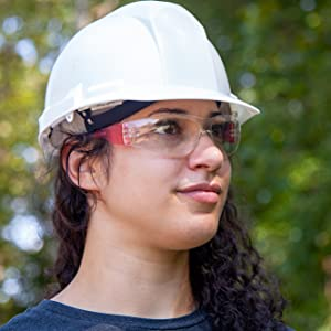 Safety Glasses red
