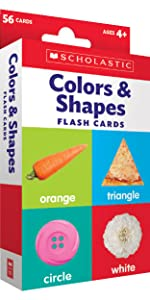Flash Cards: Colors and Shapes