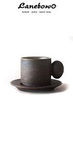 Rust coffee cup