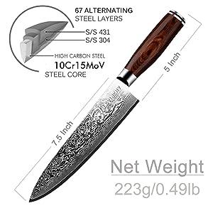 levinvhy chef knife