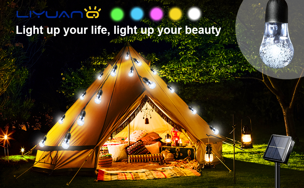 50 super bright bulbs can give you greater brightness and more brilliant lighting effects