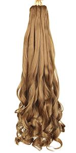 20 Inch Loose Wavy Braiding Hair 27#