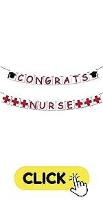 Congrats Nurse Banner