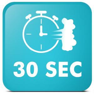30sec fast heat-up