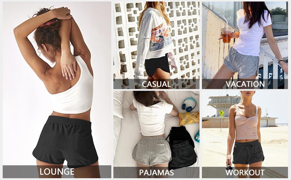 Yoga shorts for women loose fit Yoga shorts for women soft Yoga shorts for women gym Yoga shorts