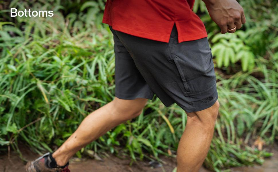 Shop shorts and pants for men from The North Face.