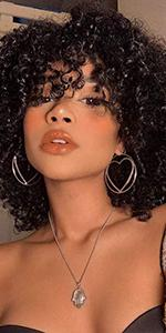 short curly wigs for black women short curly human hair wigs