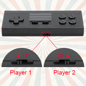 Retro game Controllers Setting