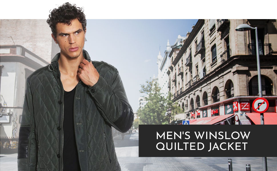 WINSLOW QUILTED JACKET