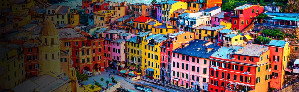 SONY IMAGE, COLORFUL BUILDINGS