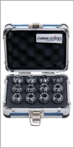 Accusize 12 Pc ER20 Collet Set 0223-0799