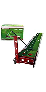 Solid Wood Golf Putting Green