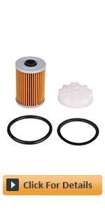 Fuel Filter Disc Filter Disk amp;amp; O-rings Kit for Mercury Marine Mercruiser Engines Gen III 3