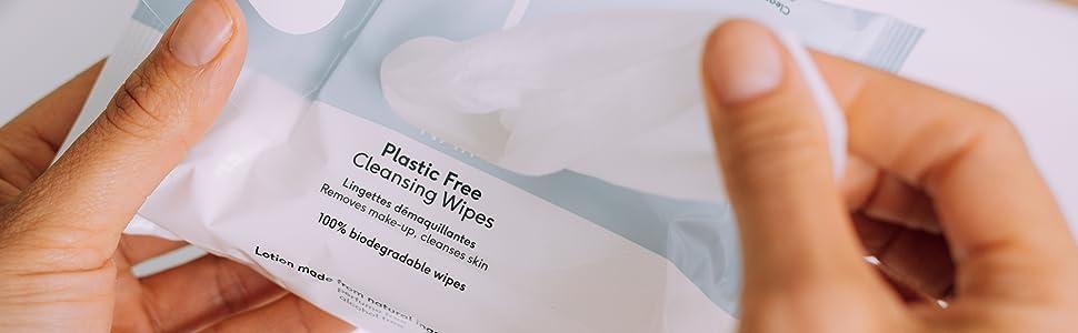 Plastice-free, wipes, naif